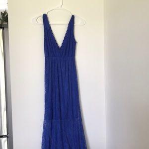 Blue Lace Dress NWOT size medium